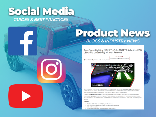 Product News and Social Media Guides