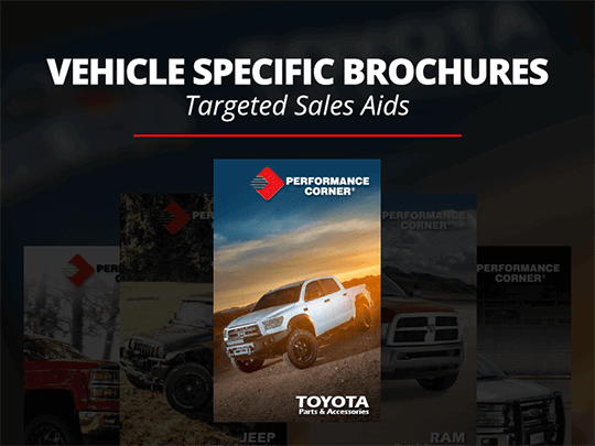 Vehicle-Specific Brochures