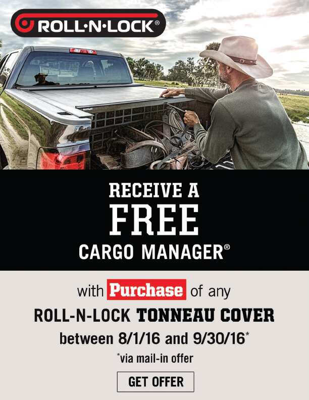 Roll-N-Lock Cargo Manager Offer