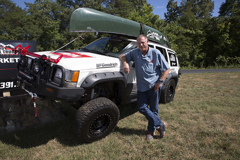 AAM GROUP'S GREG GRIFFITH TO TACKLE 36 HOURS OF UWHARRIE