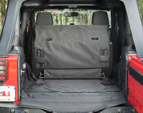 Rugged Ridge (13260.03): C3 Cargo Cover for 2007+ Jeep Wrangler JK