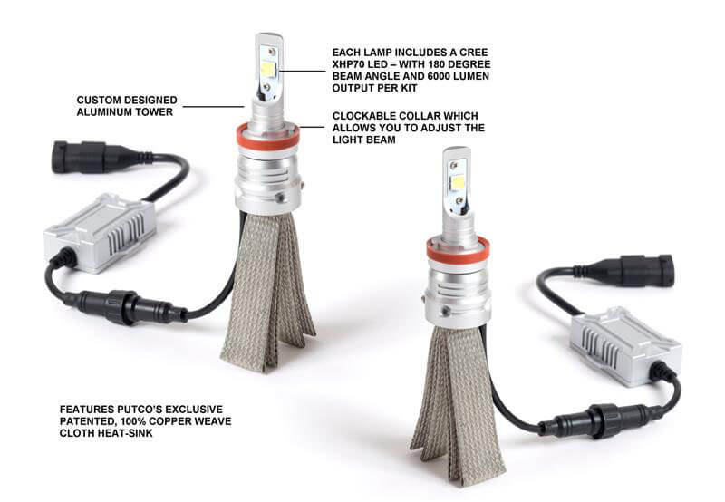 Putco: Silver-Lux PRO Replacement LED Bulbs