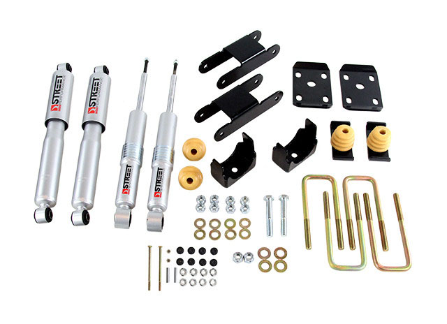 Belltech (999SP): Lowering Kit with Street Performance Shocks for '15-'18 GM Colorado/Canyon