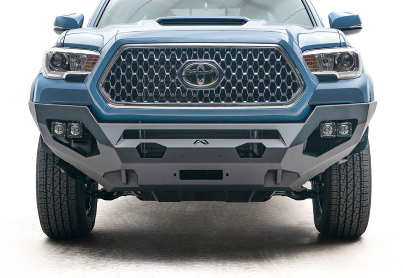 Fab Fours: Matrix Front Bumper for '16-'19 Toyota Tacoma
