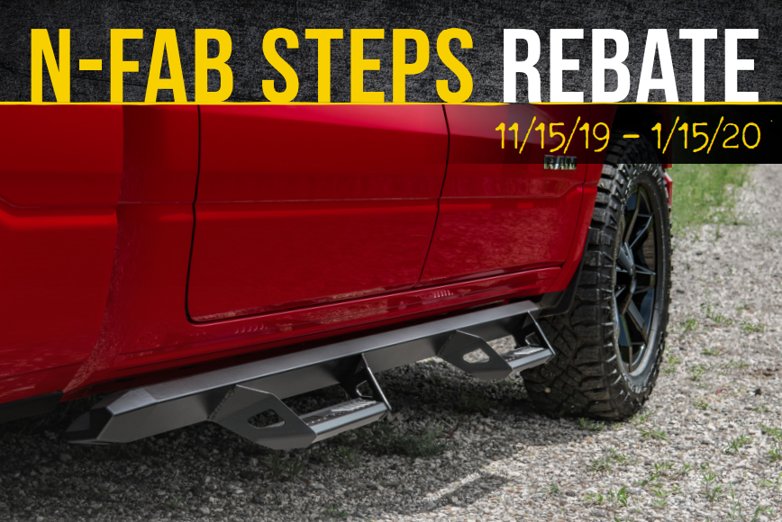 N-FAB: Get US$50 or CA$65 Back on Select Step System Purchases