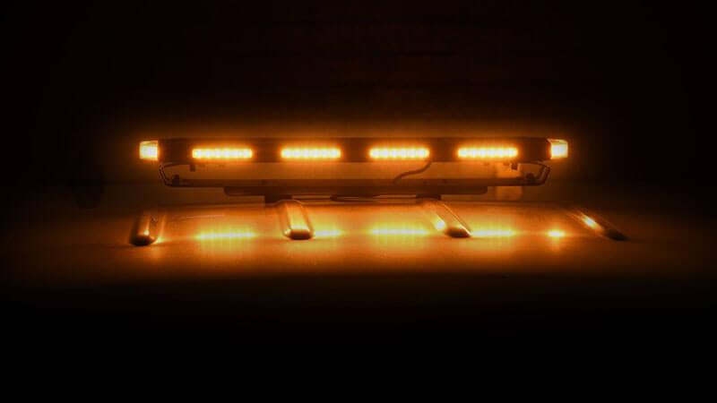 Putco: Hornet Amber Stealth Rooftop Strobe LED Light Bar