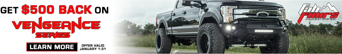 Fab Fours: Get up to $500 Back on Matrix Front and Rear Bumpers