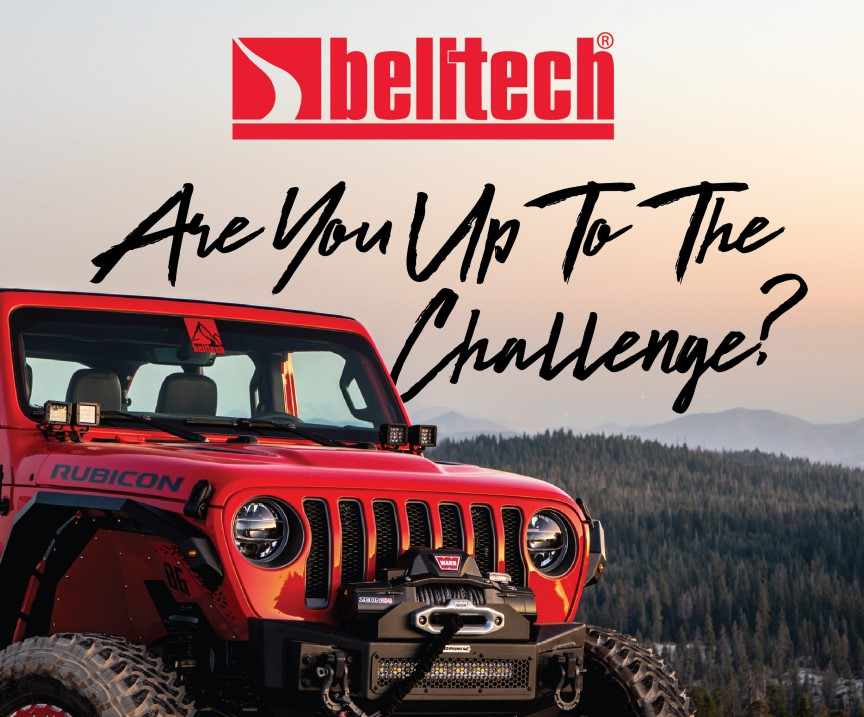 Belltech: Get a Free Limited Edition T-shirt with Upgrade to Performance Shocks/Struts