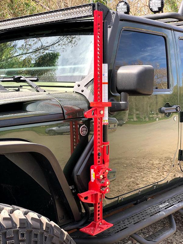 Go Rhino Jack Mount for Jeep Wrangler JK JKU 701003T