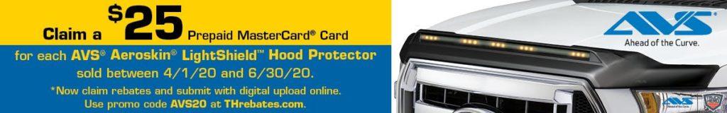 Jobber Promo | Claim $$ with each AVS Aeroskin LightShield Hood Protector Sold