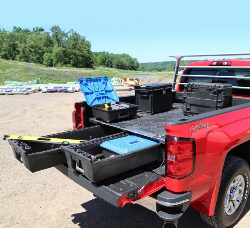 "DECKED (DG6): DECKED System for 2019+ Chevy Silverado 1500 with 5'9"" Bed"