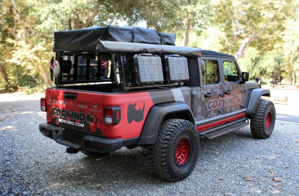 Go Rhino (5950000T): XRS Xtreme Rack for Jeep Gladiator JT