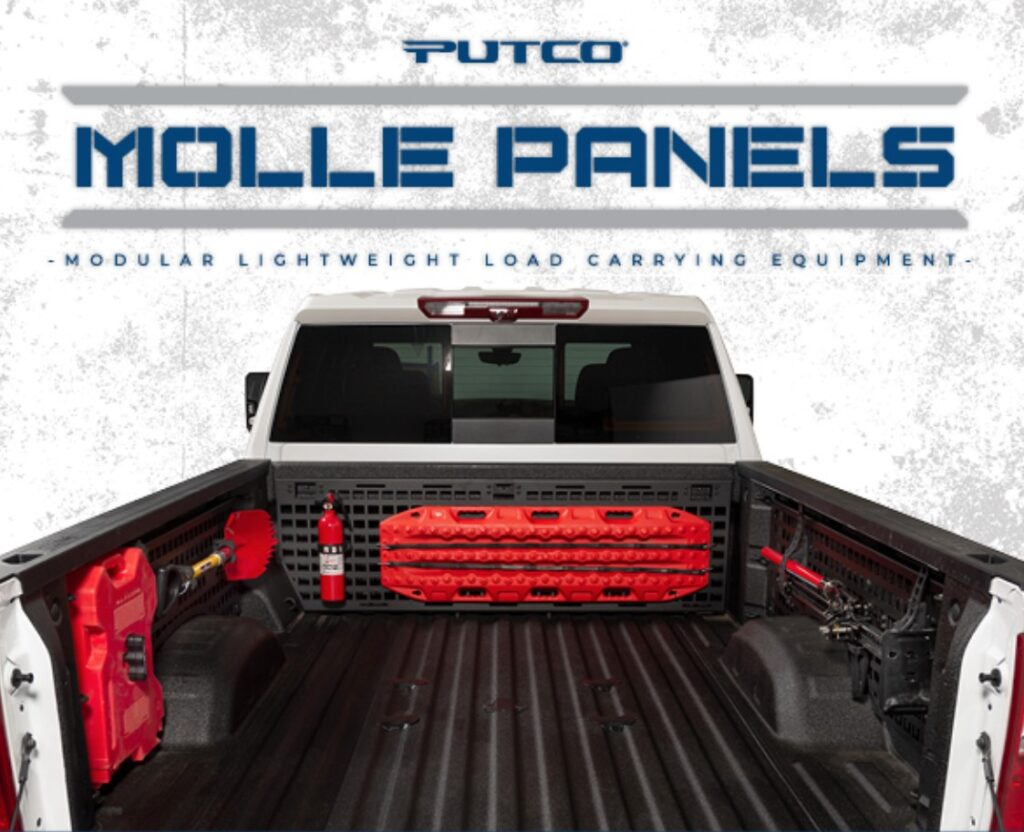 Putco: MOLLE In-Bed Panel Rack System