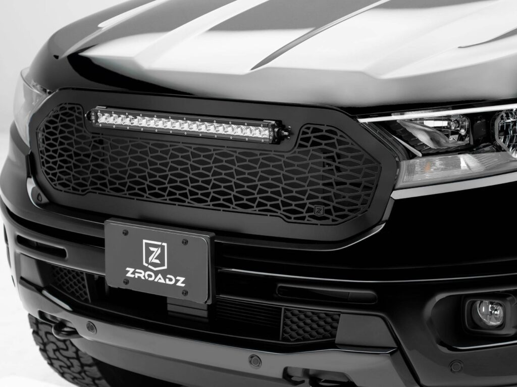 ZROADZ Grille Replacement with 20 Inch LED Bar for Ford Ranger Z315821