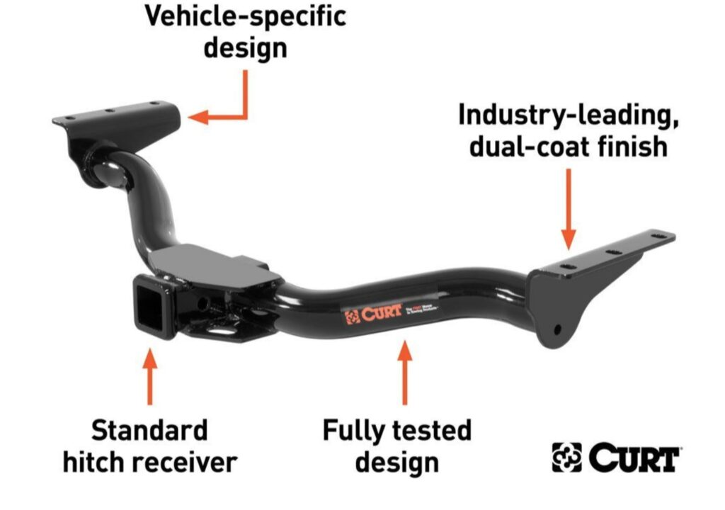 CURT (13473): First-to-Market Class 3 Trailer Hitch for 2021 Hyundai and Kia SUVs