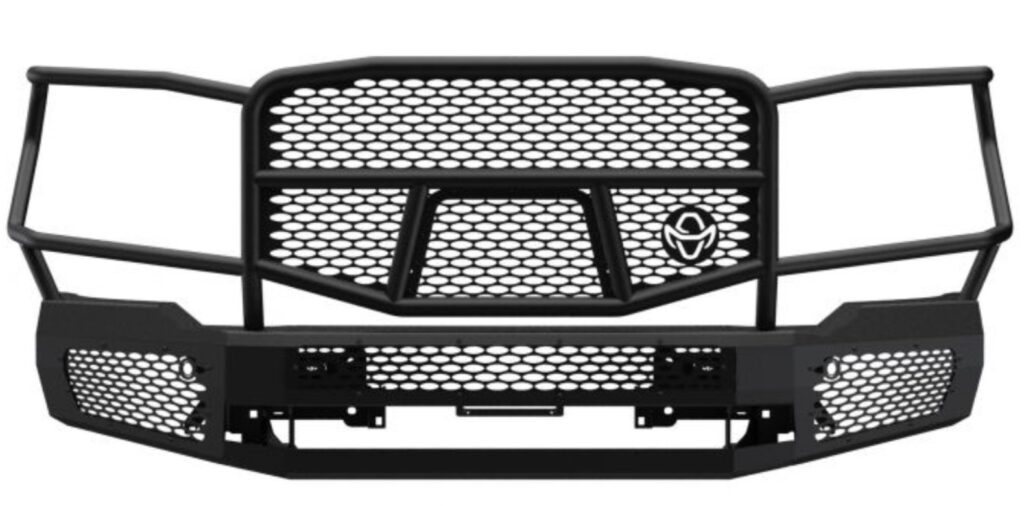 Ranch Hand Midnight Front Bumper for 20-21 GMC 2500 3500 HD
