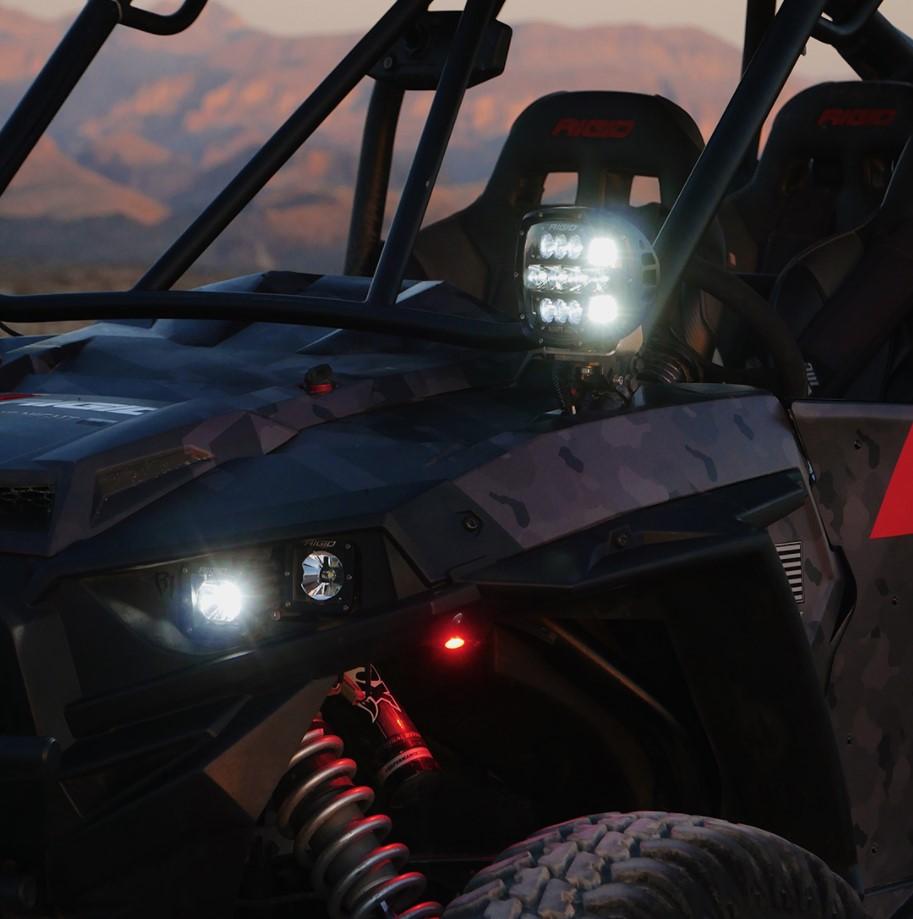 RIGID Industries: Adapt XP Powersports Light Pods