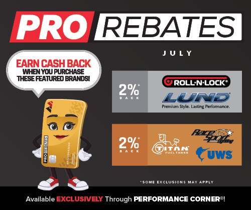 PRO Rebates: July Featured Brands