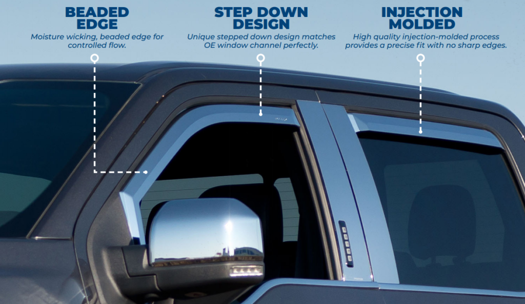 Putco: Element Window Visors