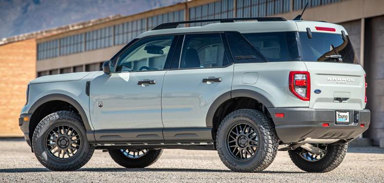 """ReadyLIFT (69-21150): 1.5"""" SST Lift Kit for 2021 Ford Bronco Sport"""